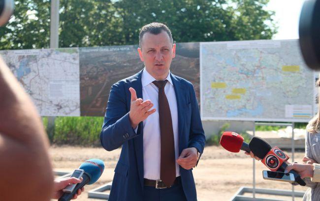 Голик: трасса Станица Луганская - Северодонецк будет сдана в рекордные сроки, как и обещал президент