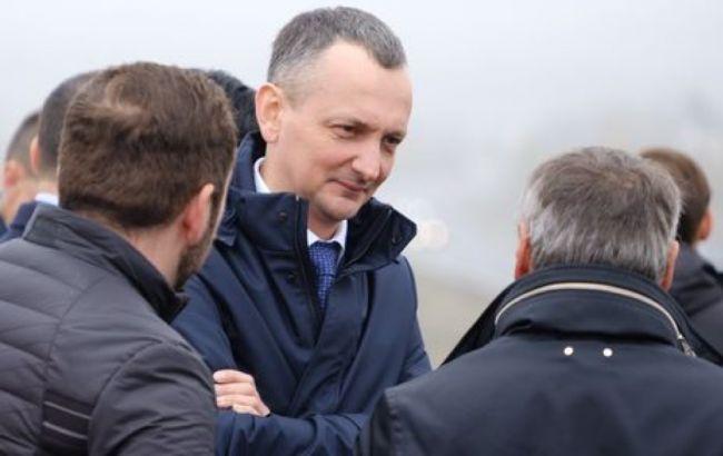 """Голик: идет строительство моста в Запорожье, """"Большая стройка"""" президента набирает обороты"""