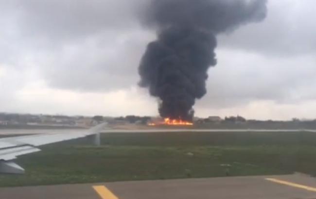 Фото: на Мальте разбился самолет с чиновниками ЕС
