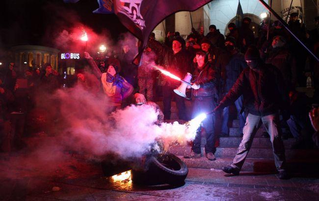 Фото: на Майдане произошли столкновения (Виталий Носач)