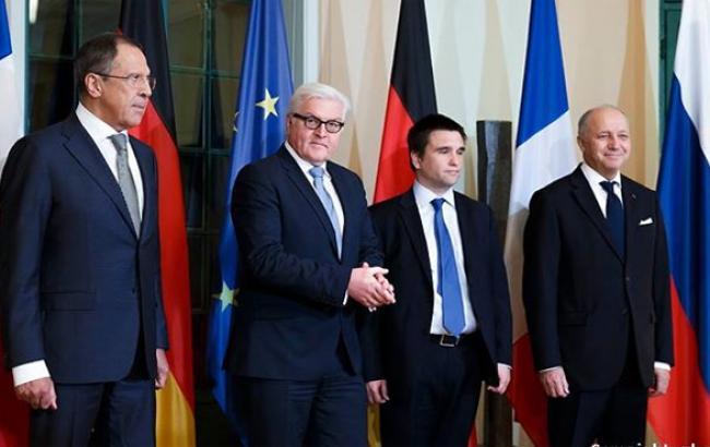 Главы МИДов Украины, РФ, Германии и Франции признали, что встречу президентов в Астане проводить рано