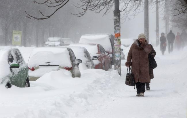 Фото: Украину на выходных завалит снегом (bigmir.net)