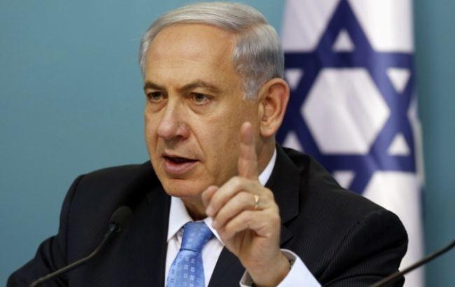 израильский политик Биньямин Нетаньяху
