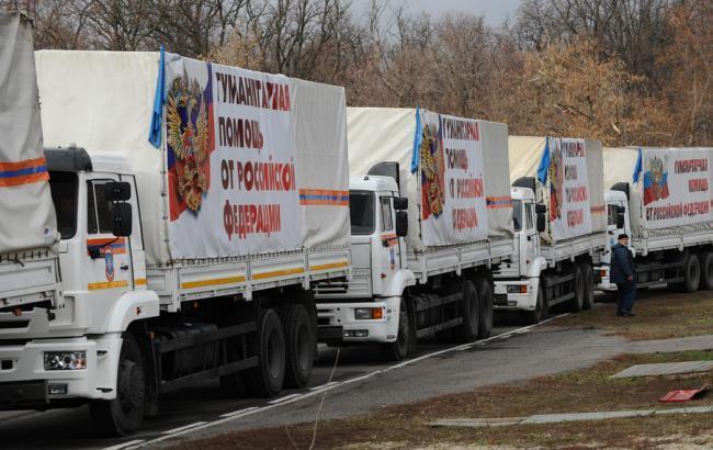 В «ЛНР» завтра ожидают прибытия очередного «гумконвоя» из Российской Федерации