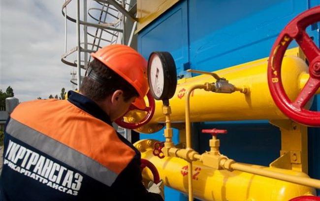 """""""Укртрансгаз"""" очікує ще на 5 млн куб. м російського газу"""