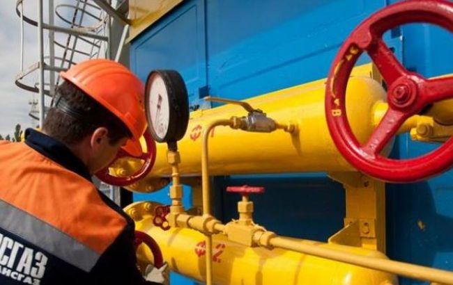 Украина нарастила на12% объемы потребления газа