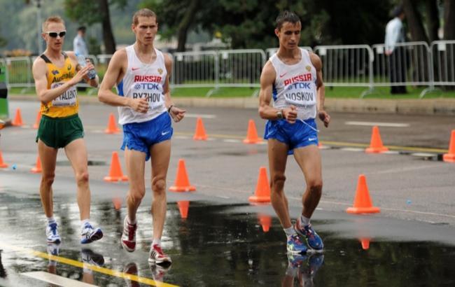 Фото: Російські легкоатлети (sports.ru)
