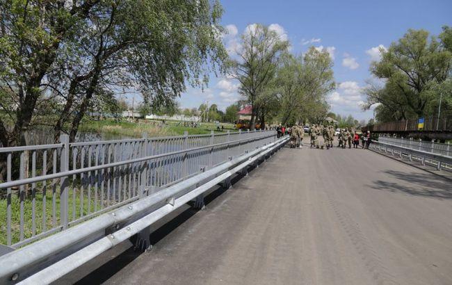 У Луганській області відкрили відремонтований міст через річку Айдар