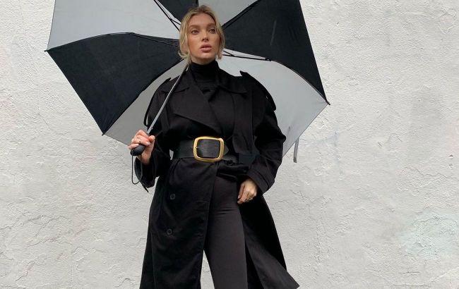 Total black: стилист рассказала, как носить самый практичный тренд лета 2021