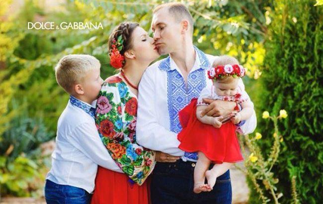 Флешмоб от Dolce&Gabbana стартовал с фото украинцев в вышиванках