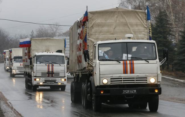 Слободян: НаДонбасс прибыл «гумконвой» РФ, всоставе которого авто больше заявленных