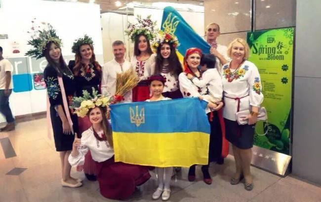 Украинский свадебный наряд признали лучшим на конкурсе в Китае