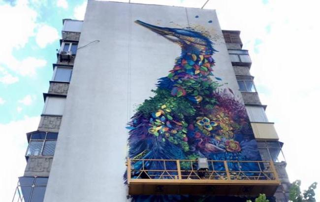 создание мурала в Киеве