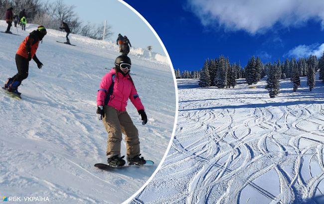 Альтернатива Карпатам: де ще можна покататися на лижах в Україні