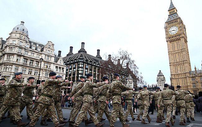 У Британії можуть скоротити чисельність армії, - Sunday Times