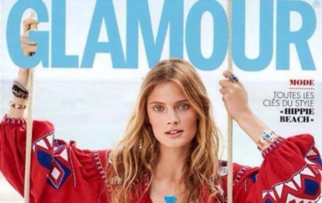 Украинская вышиванка попала на обложку французского модного журнала