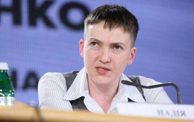"""Савченко: """"Украинцы, если вам нужно, чтобы я была президентом, то я буду президентом"""""""
