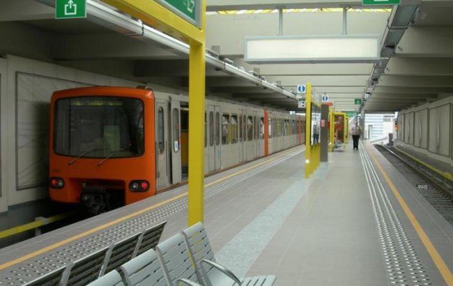 Фото: брюссельское метро