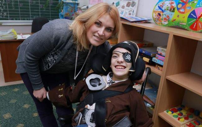 Фото: Мать с Павлом