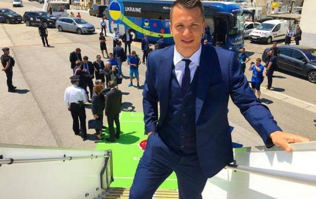 Фото: збірна України прибула до Франції