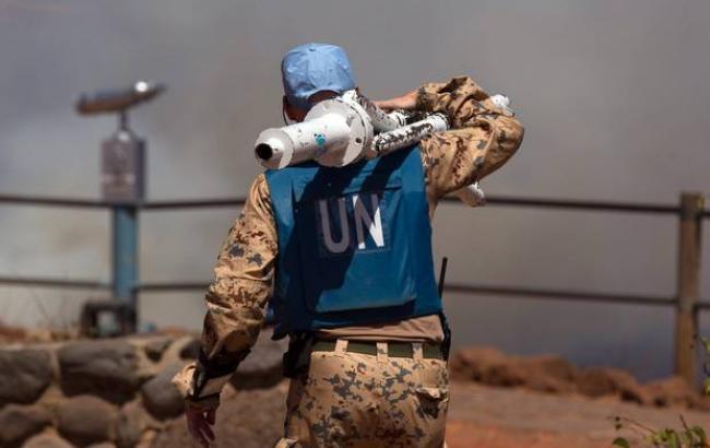 Фото: при взрыве в Мали пострадали миротворцы ООН
