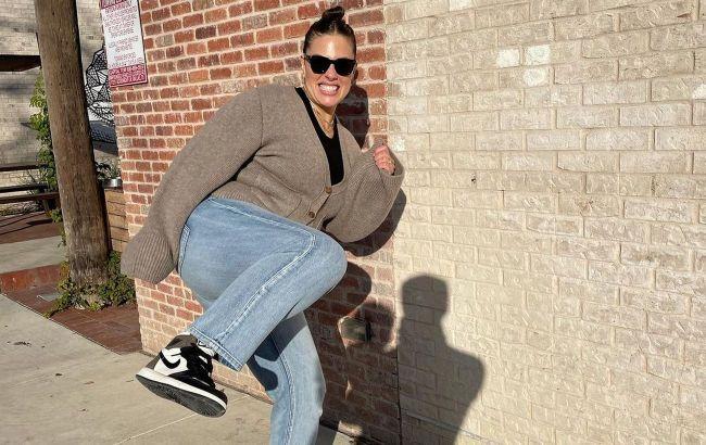 Чтобы фигура не казалась тяжелой: стилист научила, как подобрать джинсы девушкам plus size
