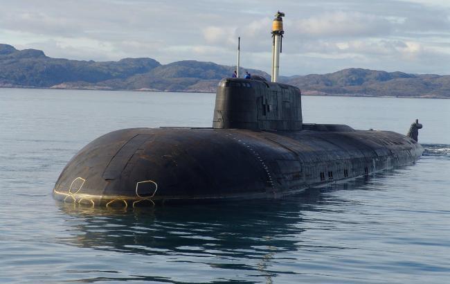 Фото: російський підводний човен