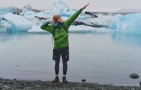 Фото: Недавно блогер Максим Заселян вернулся из велопутешествия по Исландии