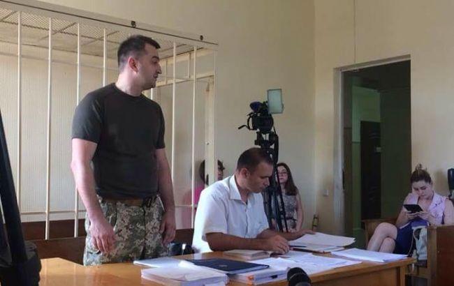 Фото: Константин Кулик на суде