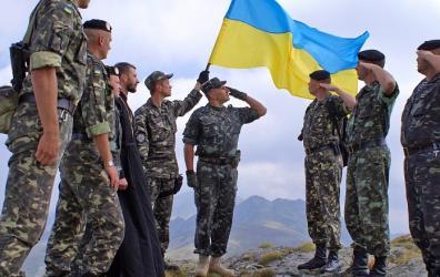 Фото: Призыв в армию Украины
