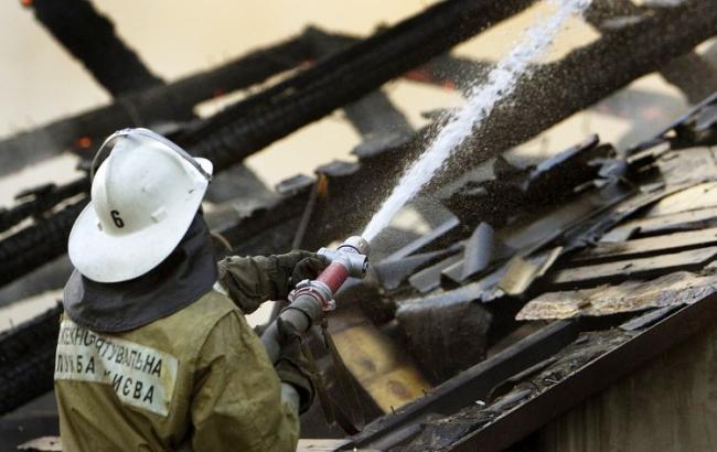 Вселе под Харьковом вовремя пожара умер ребенок