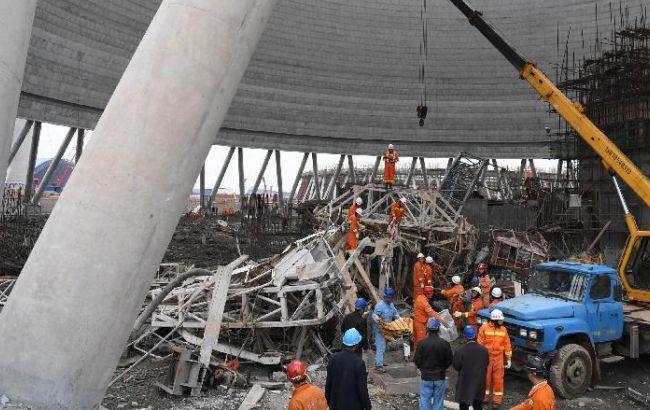 Фото: в результате обрушения на электростанции в Китае погибли 67 человек