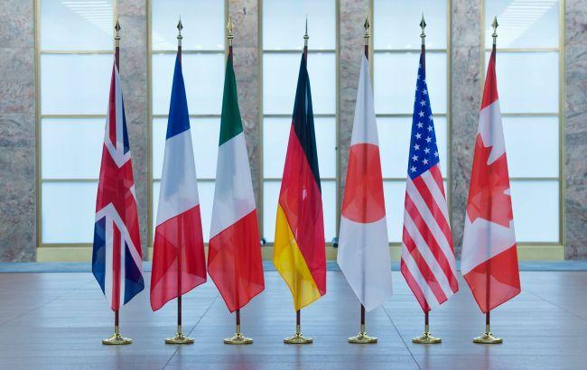 G7 пригрозила Росії додатковими санкціями через агресії проти України