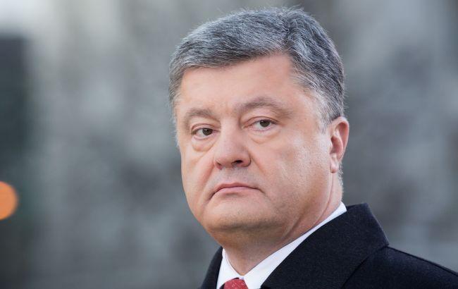 Порошенко: Блокада уничтожила Украинское государство вДонбассе