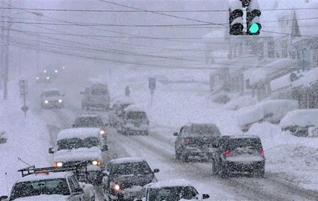 Фото: в Україні очікуються снігопади