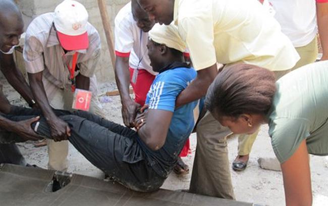 Фото: авария в Нигерии (ifrc.org)