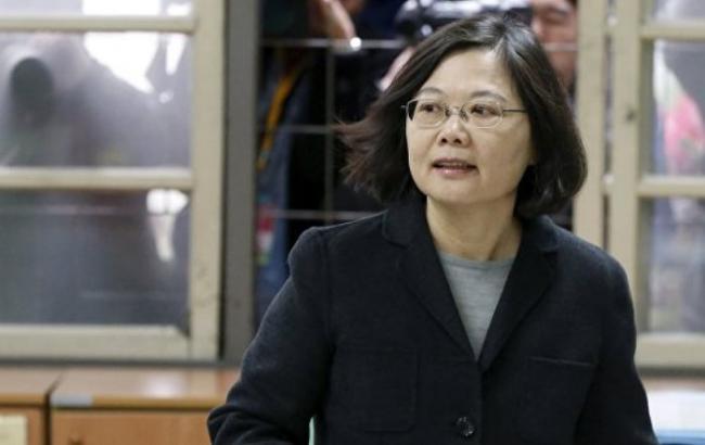 Фото: новообрана голова Тайваню Цай Інвень