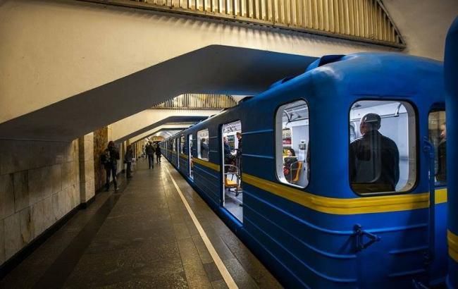 Из-за долгов 26 вагонов Киевского метрополитена невыйдут налинию