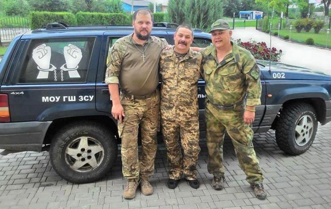 Фото: Михайла Кучевського обміняли в районі Майорська