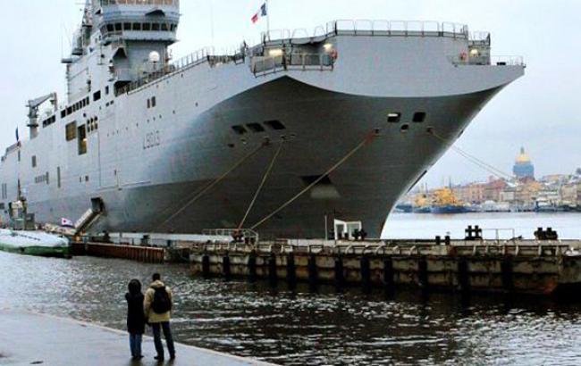 """Конгрессмены США призывают НАТО выкупить у Франции предназначенные для России """"Мистрали"""""""