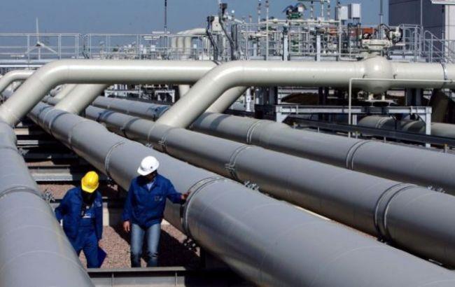 Украина в январе 2015 г. сократила транзит газа на 43,3%, - Минэнерго