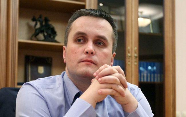 Фото: Холодницький повідомив, що Онищенко звинувачується за трьома статтями