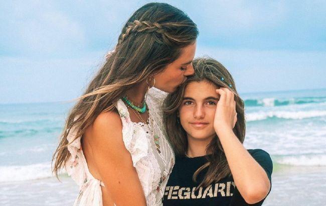 Какая же она красивая! 12-летняя дочь Алессандры Амбросио покорила сеть модельной внешностью