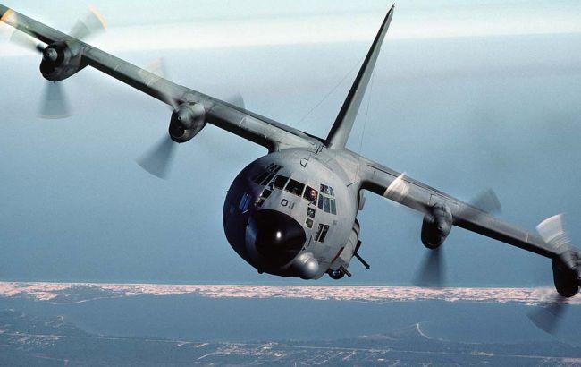Фото: полет совершат на канадском самолете наблюдения С-130
