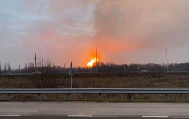 У Полтавській області стався вибух на газопроводі