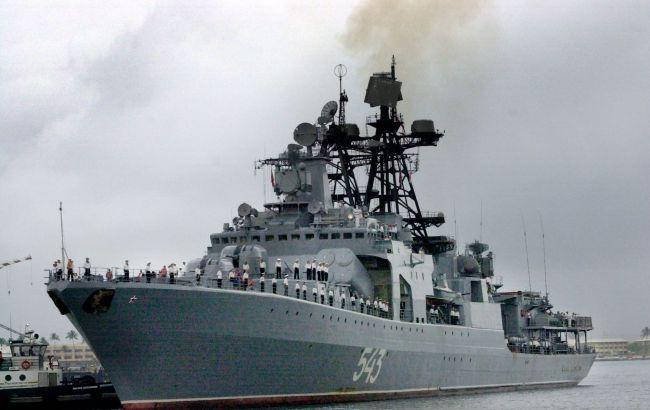 Российский флот присоединился к операции в Сирии