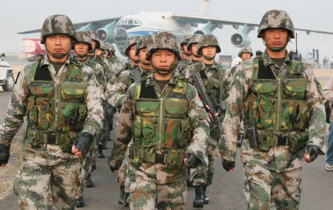 Фото: китайські військові