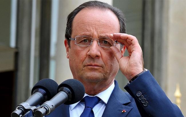 Олланд намерен ввести чрезвычайное положение во Франции на три месяца