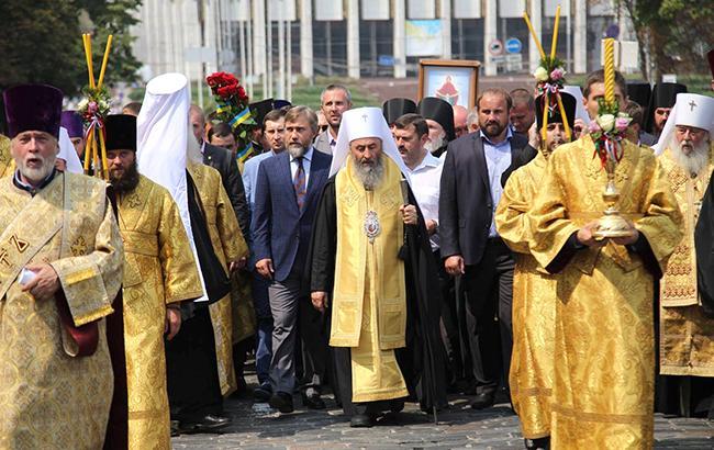 Фото: крестный ход в Киеве