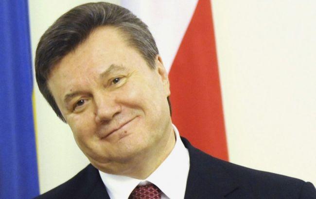 Фото: Виктор Янукович таки победил Украину в Евросуде
